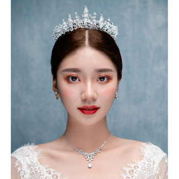 Alloy with Rhinestone Wedding Tiaras/ Headpieces for Brides