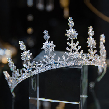 Alloy with Crystal Wedding Tiara/ Headpieces for Brides