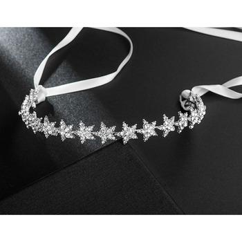Stylish New Design Crystal Star-inspired Silver First Communion Flower Girl Tiara/ Wedding Headpiece
