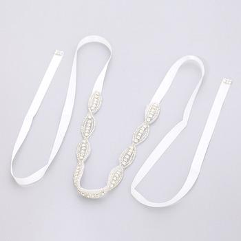 Delicate Crystal Bridal Tiara/ Bridal Headband/ Wedding Headpiece/ Bridal Hair Accessories
