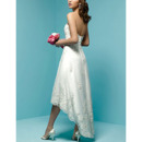 Short High-Low Wedding Dresses