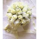 Beautiful Elegant Dreamlike Villatic Rosebuds Bride Hoder - Maize-yellow