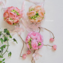 Beautiful Delicated Fantasy Pastoral Silk Flower Ball
