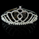 Simple Alloy With Rhinestone Bridal Wedding Tiara