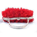 Elegant Lace Evening Handbags/ Clutches/ Purses with Rhinestone for Special Occasion