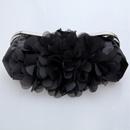 Romantic Satin Evening Handbags/ Clutches/ Purses with Flower