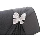 Summer Satin Evening Handbags/ Clutches/ Purses with Rhinestone