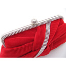 Timeless Satin Evening Handbags/ Clutches/ Purses with Rhinestone