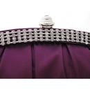 Gorgeous Satin Evening Handbags/ Clutches/ Purses with Rhinestone