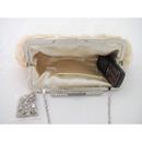 Lady like Satin Evening Handbags/ Clutches/ Purses with Rhinestone