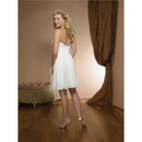 Short Chiffon Wedding Dresses