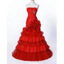 Court Train Tulle Wedding Dresses