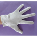 Short Simple Wrist Elastic Satin Flower Girl/ First Communion Gloves
