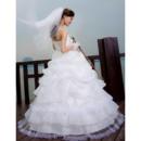 Tiered Wedding Dress