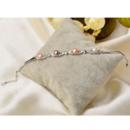 Inexpensive Multicolor 7 - 8mm Freshwater Off-Round Bridal Pearl Bracelets