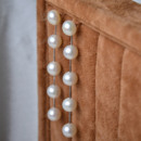 Fashionable White Round 6mm Freshwater Natural Pearl Earring Set