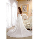 Custom Chiffon Wedding Dresses