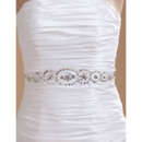 Pleated Detail Mini Wedding Dresses