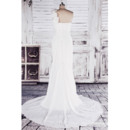 Summer Beach Chiffon Wedding Dresses