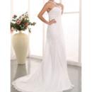 Long Beach Chiffon Wedding Gowns