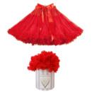 Women's Sexy Red Tulle Mini Tutus/ Skirts/ Wedding Petticoats