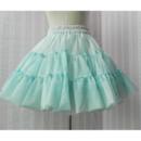 Girls' Cute A-Line Mesh Mini Skirts/ Wedding Petticoats