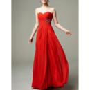 Discount Sweetheart Floor Length Chiffon Evening/ Prom/ Formal Dresses