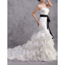 Glamorous Garden Organza Wedding Dresses