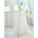 Pleated Bodice Wedding Dresses