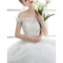 Beaded Appliques Wedding Dresses