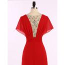 Floor Length Chiffon Evening Dresses