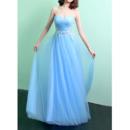 Full Length Tulle Evening Dresses