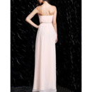 Full Length Chiffon Evening Dresses