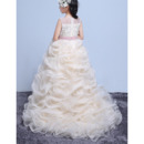 Long Length Flower Girl Dresses