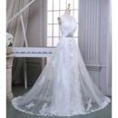 Appliques Tulle Wedding Gowns