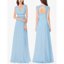 New Style Sweetheart Floor Length Chiffon Bridesmaid Dresses