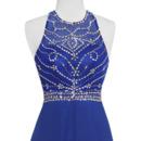 Scoop Neckline Evening Dresses