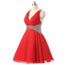 Short Chiffon Homecoming Dresses
