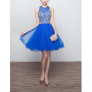 New Style Sleeveless Short Organza Homecoming/ Party Dresses