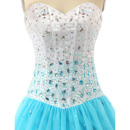 Gorgeous Beaded Bodice Evening Dresses