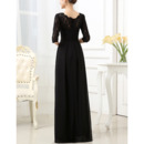 Half Sleeve Mother Of The Bride Dresses