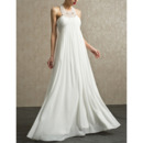 Ivory Chiffon Wedding Dresses