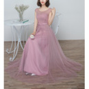 Pleated Bridesmaid Dresses