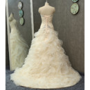 Tiered Wedding Dress