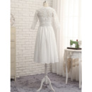 Short Chiffon Wedding Dresses