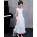 Cap Sleeves Flower Girl Dresses
