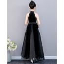 Amazing Beaded Black Little Girls Party Dresses Dresses with Split