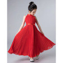 Flowing Chiffon Flower Girl Dress