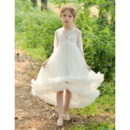 Lace Bodice Flower Girl Dresses
