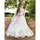 Lace Bodice Flower Girl Dresses